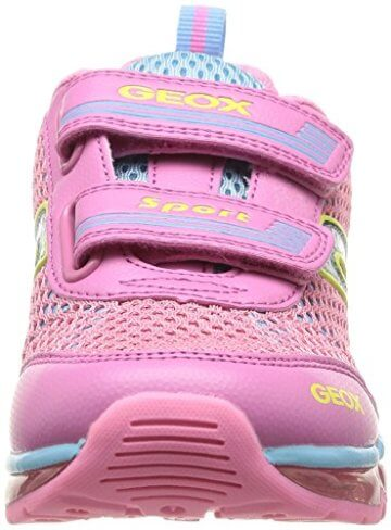 Geox J ANDROID GIRL A, Mädchen Sneakers, Pink (PINK/SKYC8207), 30 EU - 4