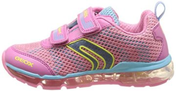 Geox J ANDROID GIRL A, Mädchen Sneakers, Pink (PINK/SKYC8207), 30 EU - 5