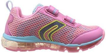 Geox J ANDROID GIRL A, Mädchen Sneakers, Pink (PINK/SKYC8207), 30 EU - 6