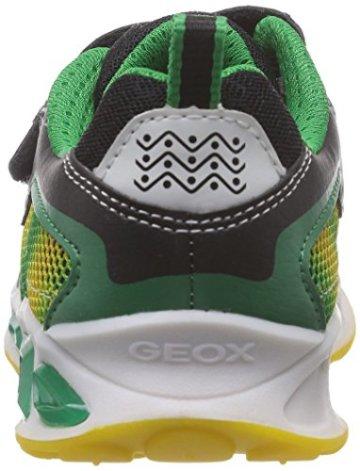 Geox J SHUTTLE BOY A, Jungen Sneakers, Mehrfarbig (BLACK/YELLOWC0054), 24 EU - 2