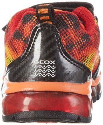 Geox Jungen J Android Boy A Low-Top, Orange (Orange/blackc0569), 35 EU - 2