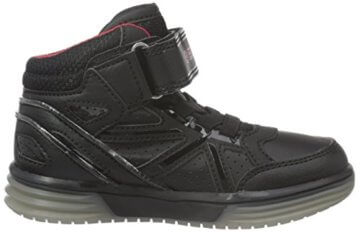 Geox Jungen J Argonat Boy C High-Top, Schwarz (Black/REDC0048), 24 EU - 6