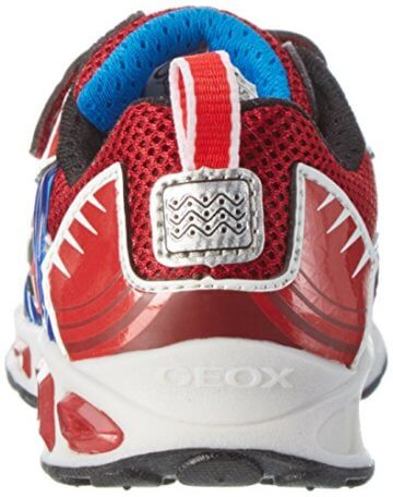 Geox Jungen J Shuttle Boy B Low-Top, Rot (Red/royalc7213), 33 EU - 2