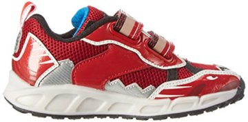Geox Jungen J Shuttle Boy B Low-Top, Rot (Red/royalc7213), 33 EU - 6