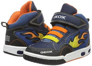 Geox Jungen JR Gregg A High-Top, Blau (Navy/ORANGEC0659), 24 EU - 5