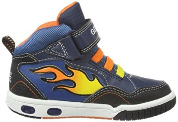 Geox Jungen JR Gregg A High-Top, Blau (Navy/ORANGEC0659), 24 EU - 6