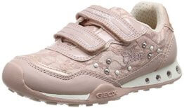 Geox Mädchen JR New Jocker Girl B Low-Top, Pink (Dk Rosec8007), 36 EU - 1