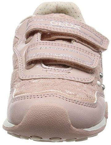 Geox Mädchen JR New Jocker Girl B Low-Top, Pink (Dk Rosec8007), 36 EU - 4
