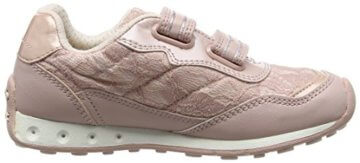 Geox Mädchen JR New Jocker Girl B Low-Top, Pink (Dk Rosec8007), 36 EU - 6
