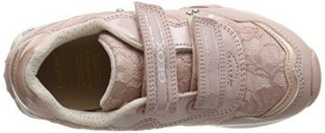 Geox Mädchen JR New Jocker Girl B Low-Top, Pink (Dk Rosec8007), 36 EU - 7