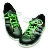 HyCell leuchtende LED-Schnürsenkel 80cm LED-Schuhbendel leuchten in blau, grün, pink oder rot (Für 1 Paar Schuhe) - 1