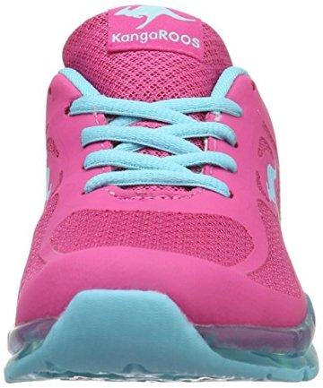 KangaROOS Mädchen K-Lev III Low-Top, Pink (Magenta/Blue Radiance), 38 EU - 4