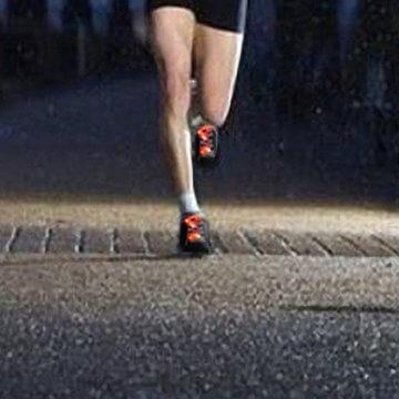 LED Schnürsenkel,CrazyFire 3 Modi Bunte Schnürsenkel,Batteriebetriebene Nylon Schnürsenkel LED Mehrfarbige Blinkende Sicherheits-Schuh-Schnüre für Partei-Hip-hop-Tanzen-Skaten Laufen (1 Paar) - 5