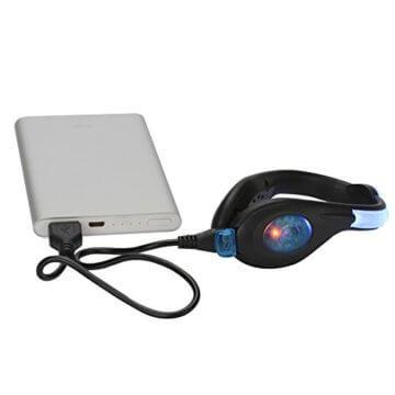 LED-Schuhclip / Sicherheitslicht, vielseitig verwendbar, sportliches Design, wiederaufladbar per USB-Kabel, wasserdicht, mit leuchtstarken LEDs für erhöhte Sichtbarkeit, 60 Stunden Betriebsdauer, 2 Stück, grün, 1 Pair - 4