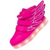 Multi-Color-blink Kid-Turnschuhfreizeitschuh für Dank, der Weihnachten … (29, Pink) - 1