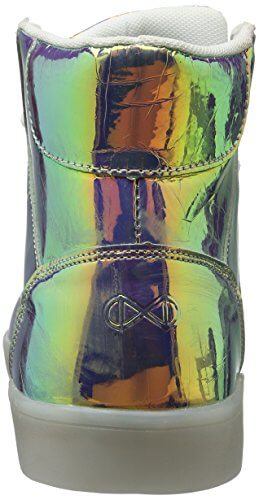 Nat-2 Herren LED Metallic High-Top, Mehrfarbig (Vanish Sunrise), 44 EU - 2