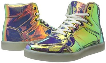 Nat-2 Herren LED Metallic High-Top, Mehrfarbig (Vanish Sunrise), 44 EU - 5