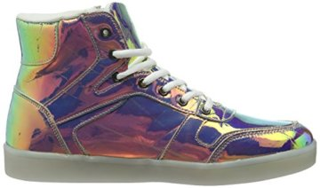 Nat-2 Herren LED Metallic High-Top, Mehrfarbig (Vanish Sunrise), 44 EU - 6
