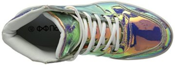Nat-2 Herren LED Metallic High-Top, Mehrfarbig (Vanish Sunrise), 44 EU - 7