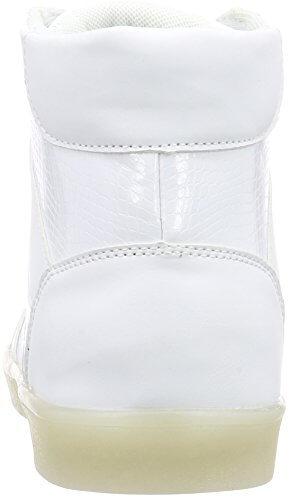 Nat-2 LED Basket, Unisex-Erwachsene Hohe Sneakers, Weiß (white), 41 EU (7.5 Erwachsene UK) - 2