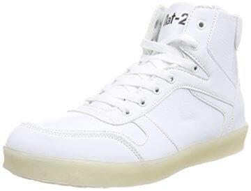 Nat-2 LED Basket, Unisex-Erwachsene Hohe Sneakers, Weiß (white), 41 EU (7.5 Erwachsene UK) - 1