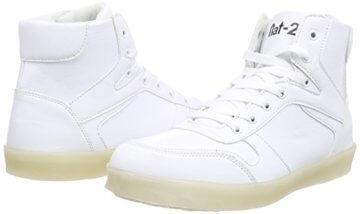 Nat-2 LED Basket, Unisex-Erwachsene Hohe Sneakers, Weiß (white), 41 EU (7.5 Erwachsene UK) - 5