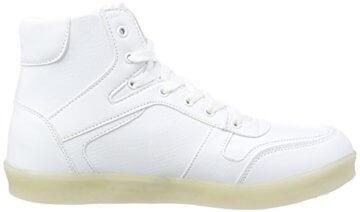 Nat-2 LED Basket, Unisex-Erwachsene Hohe Sneakers, Weiß (white), 41 EU (7.5 Erwachsene UK) - 6