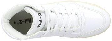 Nat-2 LED Basket, Unisex-Erwachsene Hohe Sneakers, Weiß (white), 41 EU (7.5 Erwachsene UK) - 7