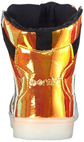 Nat-2 LED Metallic, Herren Hohe Sneakers, Orange (orange iridescent), 46 EU (11 Herren UK) - 2