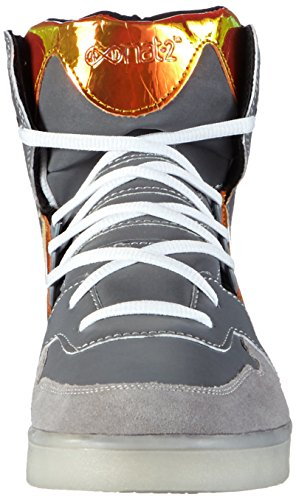 Nat-2 LED Metallic, Herren Hohe Sneakers, Orange (orange iridescent), 46 EU (11 Herren UK) - 4