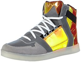 Nat-2 LED Metallic, Herren Hohe Sneakers, Orange (orange iridescent), 46 EU (11 Herren UK) - 1