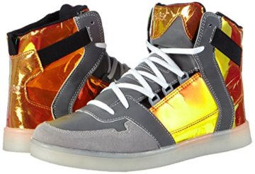 Nat-2 LED Metallic, Herren Hohe Sneakers, Orange (orange iridescent), 46 EU (11 Herren UK) - 5