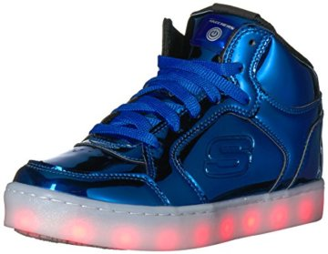 Skechers Jungen Energy Lights-Eliptic Sneaker, Blau (Royal), 27.5 EU - 1