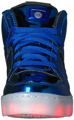 Skechers Jungen Energy Lights-Eliptic Sneaker, Blau (Royal), 27.5 EU - 4