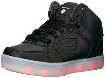 Skechers Jungen Energy Lights Sneaker, Schwarz (Black), 33 EU - 1