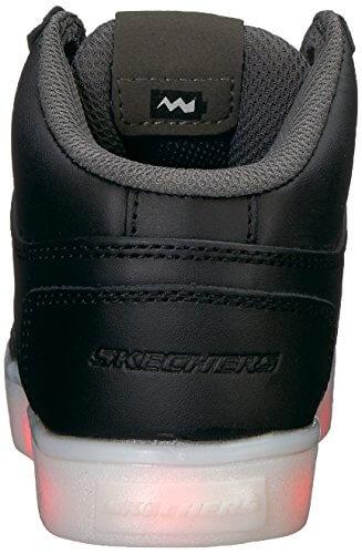Skechers Jungen Energy Lights Sneaker, Schwarz (Black), 33 EU - 2