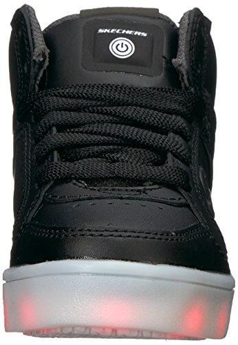 Skechers Jungen Energy Lights Sneaker, Schwarz (Black), 33 EU - 4