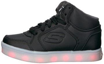 Skechers Jungen Energy Lights Sneaker, Schwarz (Black), 33 EU - 5
