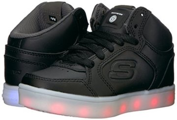 Skechers Jungen Energy Lights Sneaker, Schwarz (Black), 33 EU - 6