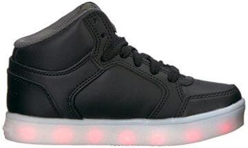Skechers Jungen Energy Lights Sneaker, Schwarz (Black), 33 EU - 7