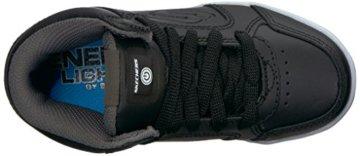 Skechers Jungen Energy Lights Sneaker, Schwarz (Black), 33 EU - 8