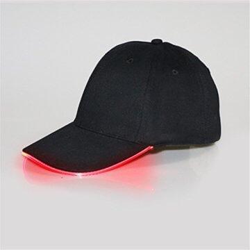 LED Kappe Base cap Schildmütze Einstellbarer Hut Baseball Blitz Käppi mit LEDs Blinkt für Party Club Bar Sportlich Reise Tour Sport Golf Hip-Hop LED-beleuchtet,LED-Taschenlampen Hüt - 2