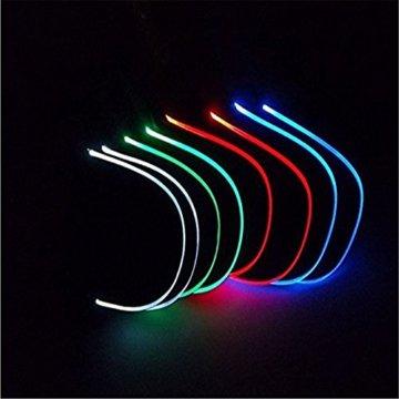 LED Kappe Base cap Schildmütze Einstellbarer Hut Baseball Blitz Käppi mit LEDs Blinkt für Party Club Bar Sportlich Reise Tour Sport Golf Hip-Hop LED-beleuchtet,LED-Taschenlampen Hüt - 6