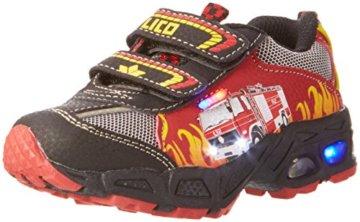 Lico Hot V Blinky, Jungen Sneakers, Mehrfarbig (rot/schwarz/gelb), 30 EU - 1