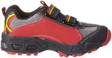 Lico Hot V Blinky, Jungen Sneakers, Mehrfarbig (rot/schwarz/gelb), 30 EU - 6