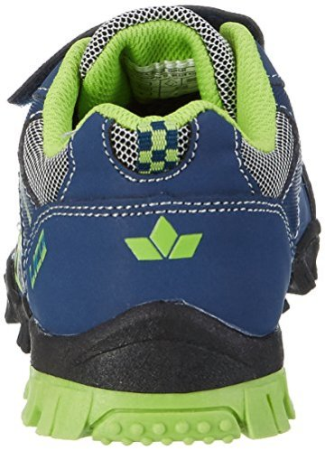 Lico Jungen MONSTERTRUCK V Blink Low-Top, Blau (Marine/Lemon), 27 EU - 2