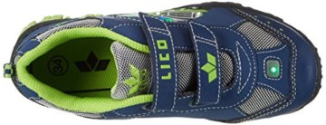 Lico Jungen MONSTERTRUCK V Blink Low-Top, Blau (Marine/Lemon), 27 EU - 7