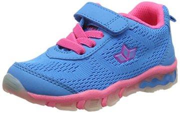 Lico Mädchen LIGHTBALL VS Blinky Multisport Indoor Schuhe, Tuerkis/Pink, 26 EU - 1
