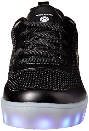 Skechers Jungen Energy Lights - Circulux Sneaker, Schwarz (Black Blk), 36 EU - 4