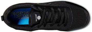 Skechers Jungen Energy Lights - Circulux Sneaker, Schwarz (Black Blk), 36 EU - 9